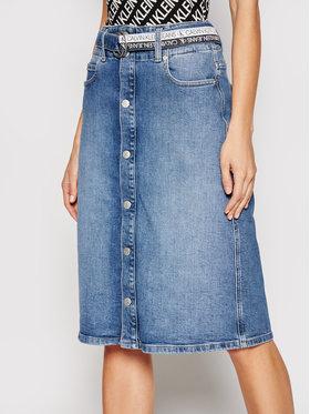 Calvin Klein Jeans Calvin Klein Jeans Spódnica jeansowa J20J215436 Niebieski Regular Fit