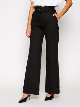 Victoria Victoria Beckham Victoria Victoria Beckham Pantaloni culotte Ponti 2320JTR001410A Negru Oversize