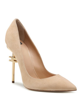 Elisabetta Franchi Elisabetta Franchi Pantofi cu toc subțire SA-90B-11E2-V460 Bej
