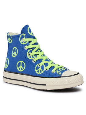 Converse Converse Sneakers aus Stoff Chuck 70 Hi 167913C Blau
