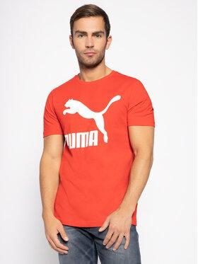 Puma Puma Tričko Classics Logo Tee 595132 Červená Regular Fit
