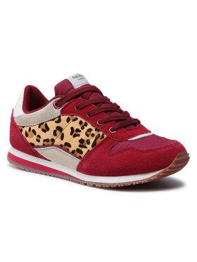 Pepe Jeans Pepe Jeans Sneakers Sydney Basic Girl PGS30232 Dunkelrot