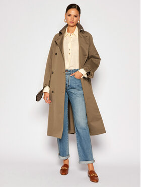 Victoria Victoria Beckham Victoria Victoria Beckham Trench 2320WCT001434A Smeđa Regular Fit