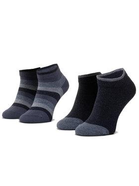 Tommy Hilfiger Tommy Hilfiger Комплект 2 чифта дълги чорапи детски 354010001 Син