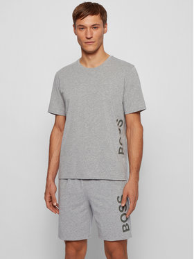 Boss Boss T-Shirt Identity RN 50442645 Grau Regular Fit