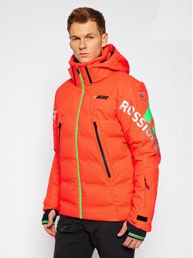 Rossignol Rossignol Kurtka narciarska Hero Depart RLIMJ55 Pomarańczowy Classic Fit