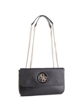Guess Guess Дамска чанта HWVG71 86210 Черен