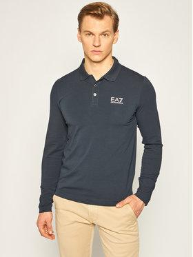 EA7 Emporio Armani EA7 Emporio Armani Polo marškinėliai 8NPF05 PJM5Z 0578 Tamsiai mėlyna Regular Fit