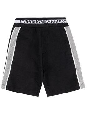 Emporio Armani Emporio Armani Pantalon scurți din material 3H4SJ1 1J07Z 0999 Negru Regular Fit