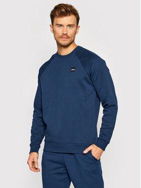 Under Armour Under Armour Bluză Ua Rival Fleece 1357096 Bleumarin Loose Fit
