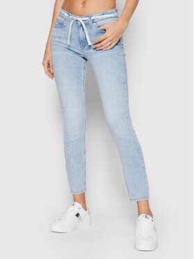 Calvin Klein Jeans Calvin Klein Jeans Farmer J20J216300 Kék Skinny Fit