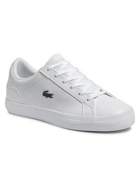 Lacoste Lacoste Sneakersy Lerond Bl 21 1 Cfa 7-41CFA002221G Biela