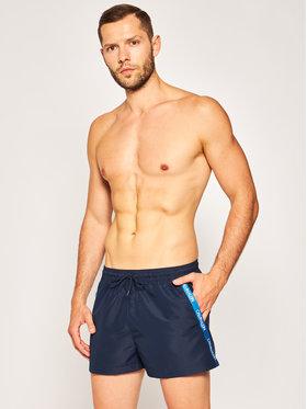 Calvin Klein Swimwear Calvin Klein Swimwear Badeshorts Drawstring KM0KM00455 Dunkelblau Regular Fit