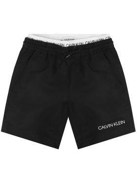 Calvin Klein Swimwear Calvin Klein Swimwear Плувни шорти Medium Double Waistband B70B700231 Черен Regular Fit