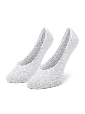 Tommy Hilfiger Tommy Hilfiger Súprava 2 párov krátkych ponožiek dámskych 100002399 Biela