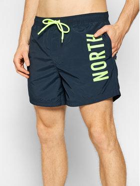 North Sails North Sails Pantaloncini da bagno Volley 673434 Blu scuro Regular Fit
