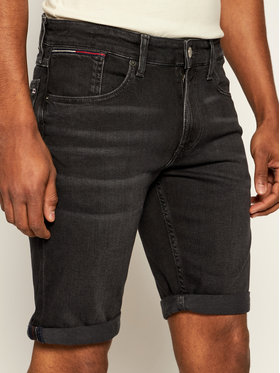 Tommy Jeans Tommy Jeans Jeansshorts Ronnie DM0DM07972 Schwarz Relaxed Fit