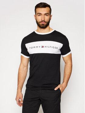 Tommy Hilfiger Tommy Hilfiger T-shirt Logo Flag UM0UM01170 Nero Regular Fit