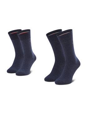 Tommy Hilfiger Tommy Hilfiger Vyriškų ilgų kojinių komplektas (2 poros) 100001496 Tamsiai mėlyna