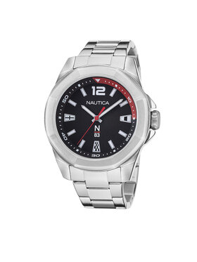 Nautica Nautica Zegarek NAPTBF104 Srebrny