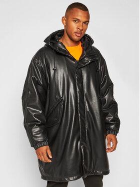 MSGM MSGM Veste en cuir 2940MH20 207652 Noir Regular Fit