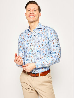 Emanuel Berg Emanuel Berg Риза Harvard HV37 Цветен Slim Fit