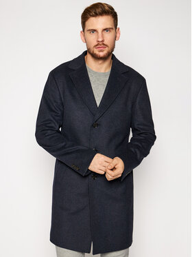 JOOP! Joop! Μάλλινο παλτό 17 Jc-22Mariso 30024053 Σκούρο μπλε Regular Fit