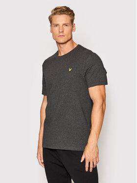 Lyle & Scott Lyle & Scott T-Shirt Plain TS400VOG Szary Regular Fit