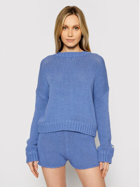 Guess Guess Sweater E1GR00 ZZ04I Lila Relaxed Fit