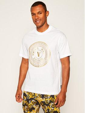 Versace Jeans Couture Versace Jeans Couture T-Shirt B3GZA7TK Biały Regular Fit