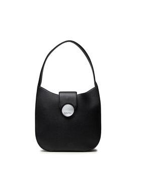 Calvin Klein Calvin Klein Дамска чанта Ck Luxe Hobo K60K608595 Черен