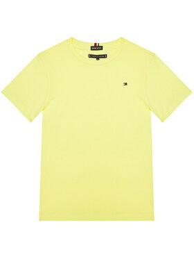 TOMMY HILFIGER TOMMY HILFIGER Marškinėliai Essential Cttn Tee KB0KB05838 M Geltona Regular Fit