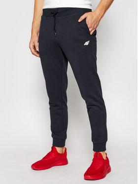 4F 4F Spodnie dresowe NOSH4-SPMD001 Granatowy Regular Fit