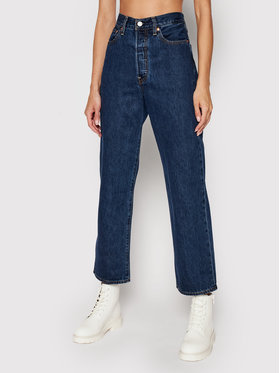 Levi's® Levi's® Jeans Ribcage Ankle 72693-0072 Dunkelblau Straight Fit