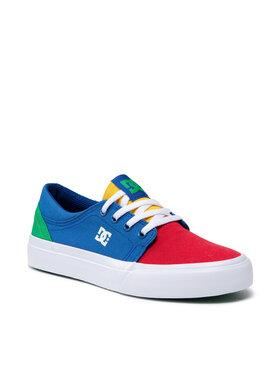 DC DC Sneakers aus Stoff Trase ADBS300138 Blau