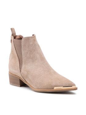 Carinii Carinii Členková obuv s elastickým prvkom B5698 Béžová