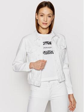 Calvin Klein Calvin Klein Giacca di jeans Denim Trucker K20K202826 Bianco Regular Fit