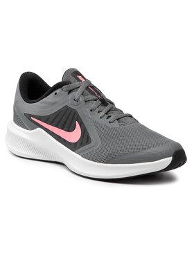 Nike Nike Boty Downshifter 10 (Gs) CJ2066 008 Šedá