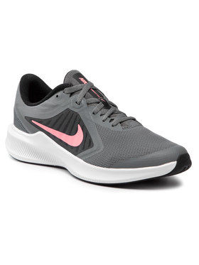 Nike Nike Buty Downshifter 10 (Gs) CJ2066 008 Szary