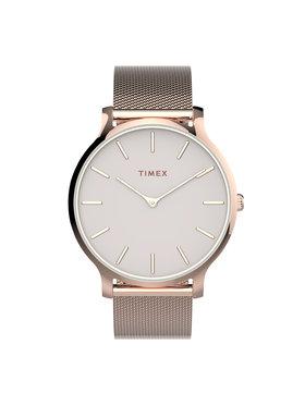 Timex Timex Часовник Transcend™ TW2T73900 Розов