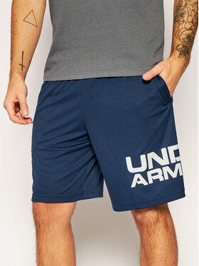 Under Armour Under Armour Sportovní kraťasy Ua Tech™ Wordmark 1351653 Tmavomodrá Loose Fit