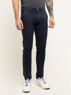 Pepe Jeans Pepe Jeans Bavlnené nohavice Charly PM210992 Tmavomodrá Slim Fit