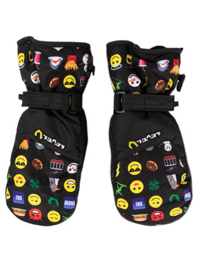 Level Level Lyžařské rukavice Glove Junior 4152JM.53 Černá