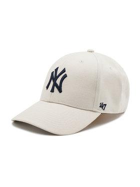 47 Brand 47 Brand Šiltovka New York Yankees B-MVP17WBV-BN Sivá