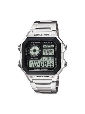 Casio Casio Laikrodis AE-1200WHD-1AVEF Sidabrinė