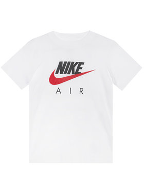 NIKE NIKE T-shirt Air CZ1828 Bianco Standard Fit