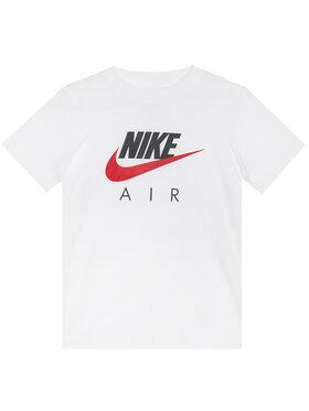 NIKE NIKE T-Shirt Air CZ1828 Bílá Standard Fit