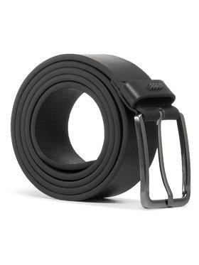 Boss Boss Мъжки колан Calis-Logo 50441420 Черен