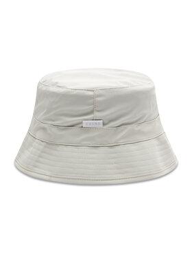 Rains Rains Текстилна шапка Bucket Hat 2001 Бял