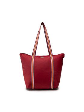 Lacoste Lacoste Дамска чанта M Shopping Bag NF3619YA Бордо